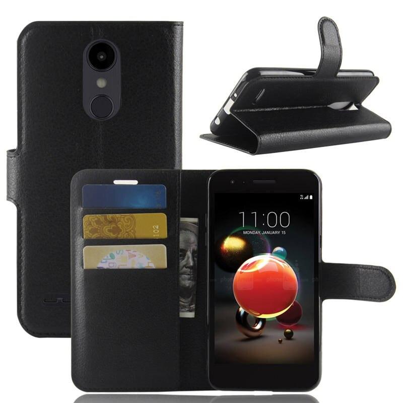 Для LG K8 2018 Чехол-бумажник из искусственной кожи чехол для телефона для LG Aristo 2 X210MA/Tribute династии/K8 2018/LV3 2018 чехол с откидной крышкой