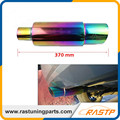 RASTP - Hi Power Universal 304 Stainless Steel Exhaust Pipe Racing Muffler Tip Car Exhaust Pipe LS-CR1002