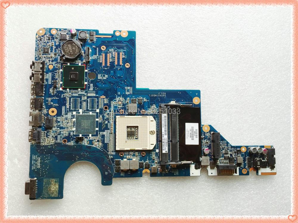 цена 595184-001 DA0AX1MB6F1 / DA0AX1MB6H1 for HP CQ62 CQ42 G42 G62 G72 NOTEBOOK 595184-001 Laptop Motherboard HM55 DDR3 100%Tested