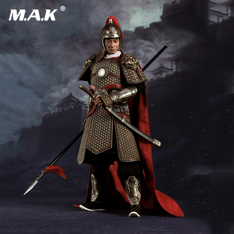 Full set action figure 1/6 Scale Famous general and national hero of Ming Dynasty Qi Jiguang for Collection mnotht 1 6 action figure panzer third