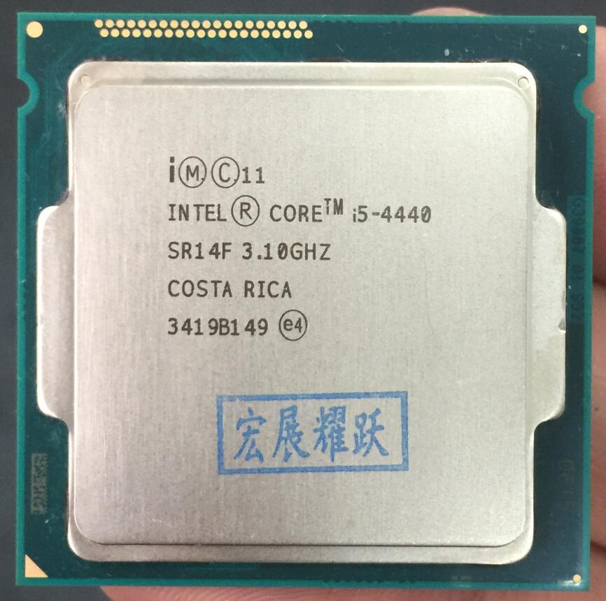 Ordinateur PC Intel Core i5-4440 i5 4440 processeur Quad-Core LGA1150 ordinateur de bureau CPU 100% fonctionnant correctement processeur d'ordinateur de bureau