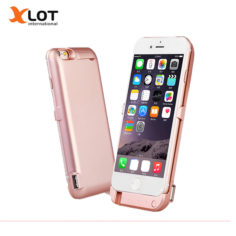 Battery Charger Case For iPhone 6 6S 6Plus Power Case 5000 8000mAh Protable Power Bank External
