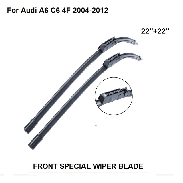 Windscreen Wiper For Audi A6 C6 4F 2004 2012 22''+22