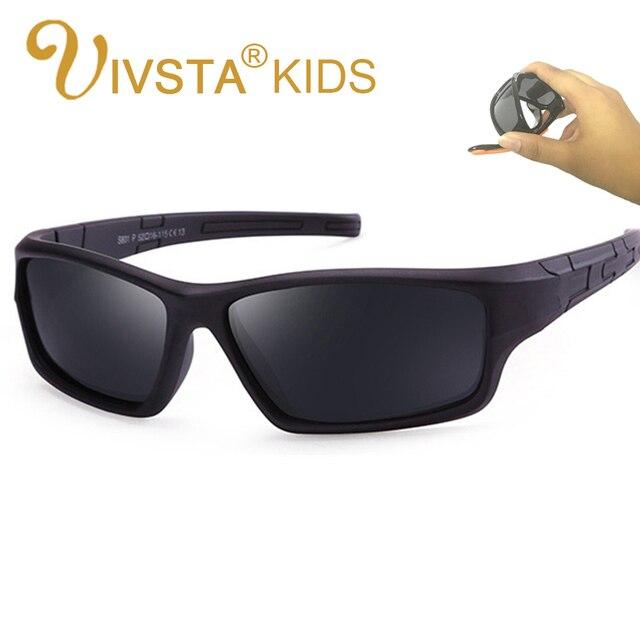 b479990b7d IVSTA niñas niños gafas de sol Polaroid TAC polarizadas flexibles gafas de  sol niños seguro deporte