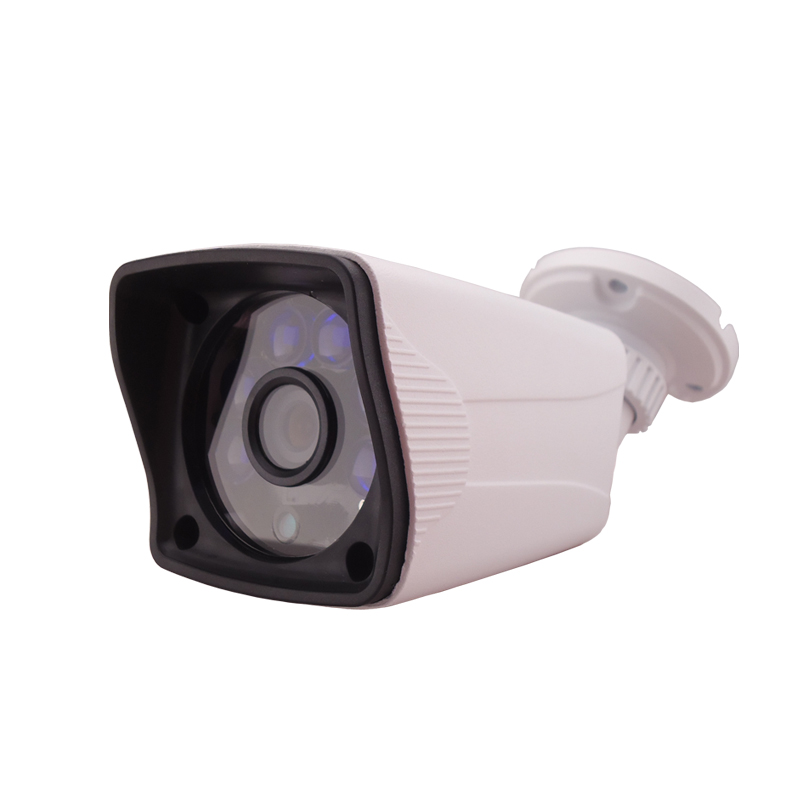 4CH POE Network HD 1.0MP 720P waterproof outdoor light night vision 6IR 4CH POE NVR IP Camera Security Kit
