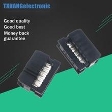 цена на 10PCS 2.54mm Pitch 2x5 Pin 10 Pin IDC Female Header Socket Connector FC-10