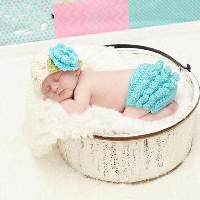 Bebé recién nacido Niñas Niños fotografía ganchillo sombrero de ...