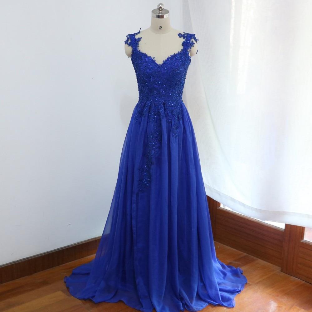 Navy Blue Chiffon Bridesmaid Dresses Plus Size Arabic Appliques Beaded Side  Slit Party Dresses Long vestido madrinha casamento-in Bridesmaid Dresses  from ... 90bcdefb8b59