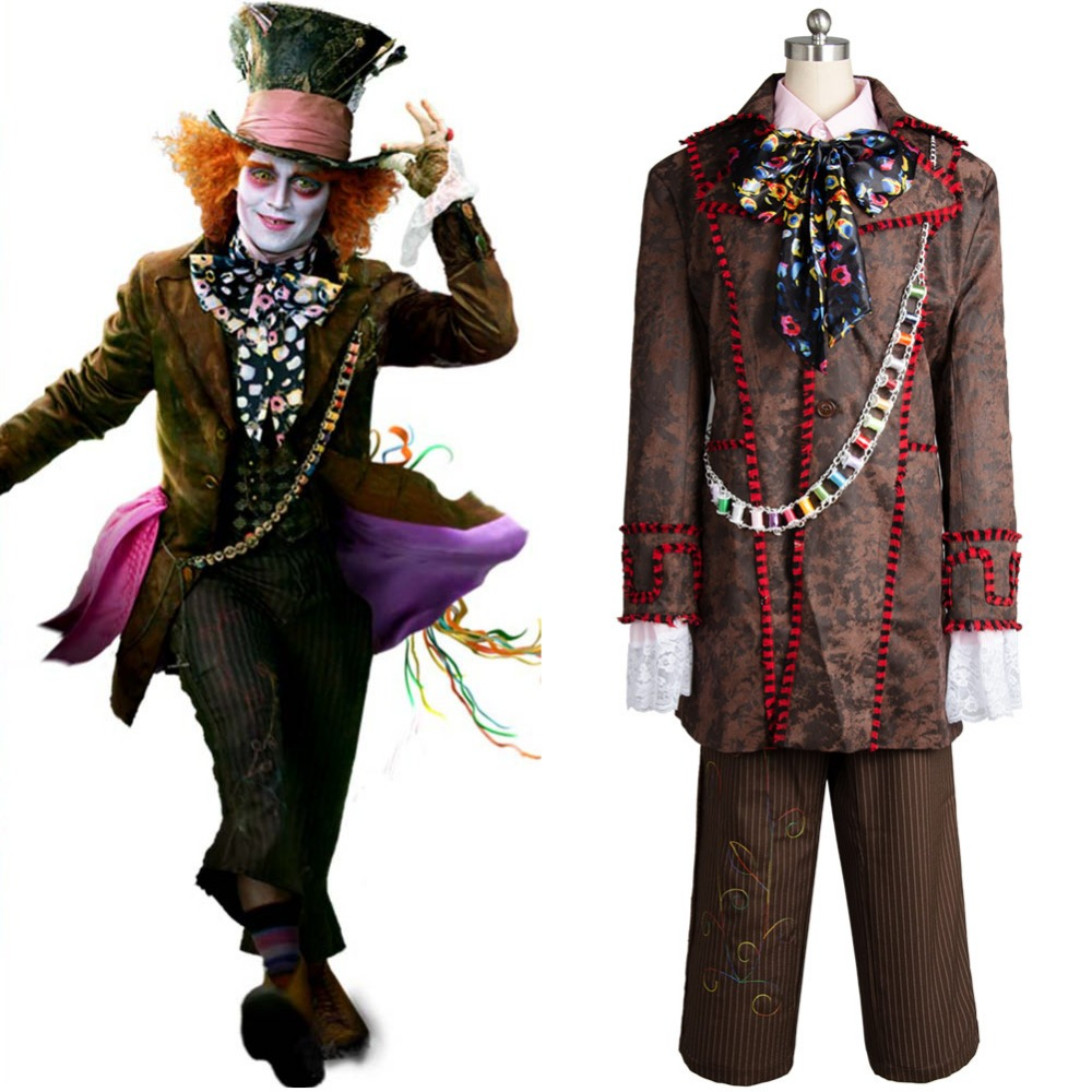 alice in wonderland johnny depp mad hatter cosplay
