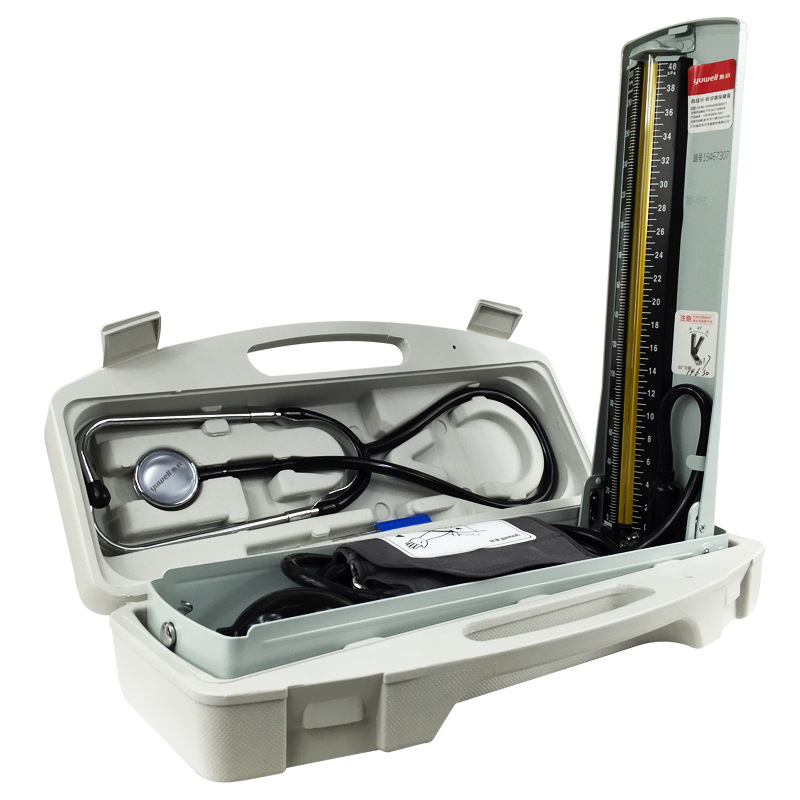 Yuwell مراقبة ضغط الدم الزئبق مقياس ضغط الدم ضغط الدم متر سماعة الطبيب المهنية القلب السماعة CE-في ضغط الدم من الجمال والصحة على  مجموعة 1