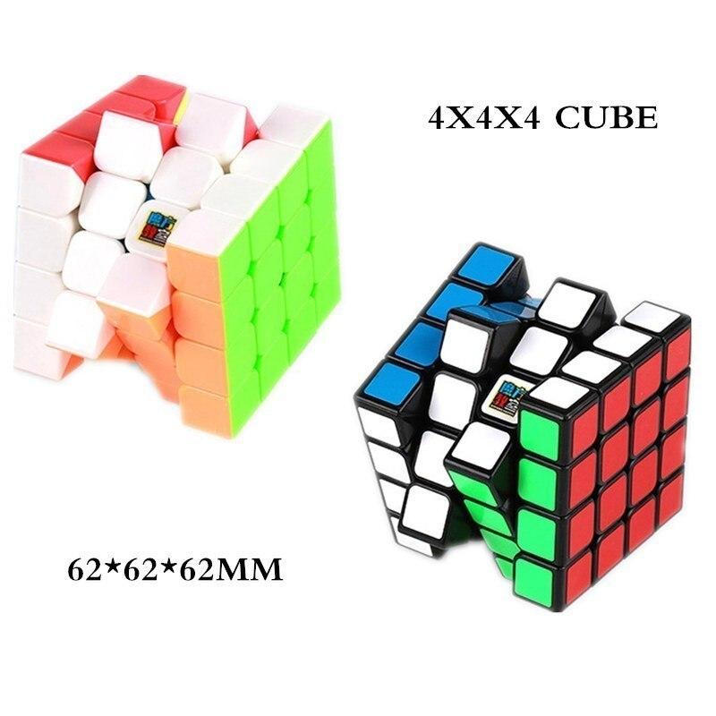 MOYU ensemble 6 pièces Neo Cube Magic 2x2x2 + 3x3x3 + 4x4x4 + 5x5 + 6x6x6 + 7x7x7 Cubes 6 pièces ensemble Puzzle Cube jouets pour enfants - 4