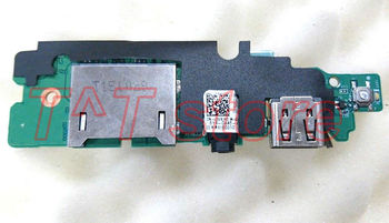 original for Vostro 5459 Power Button USB Audio Card Reader I/O Board DA0AM8PI6D0 9XH8W 09XH8W CN-09XH8W test good free shipping