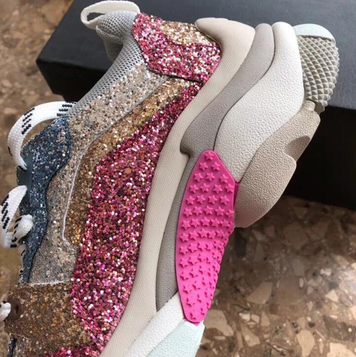 Et Confortables Femme Sneakers as Picture Maille De Luxe Feminino Chaude Appartements Haute Mode As Ins Tenis Casual Nouvelle Paillettes 2018 Picture Qualité Chaussures IUf4A