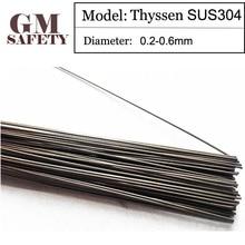 Thyssen Laser welding wire SUS304 for Welders (0.2/0.3/0.4/0.5/0.6mm) T012107 стоимость