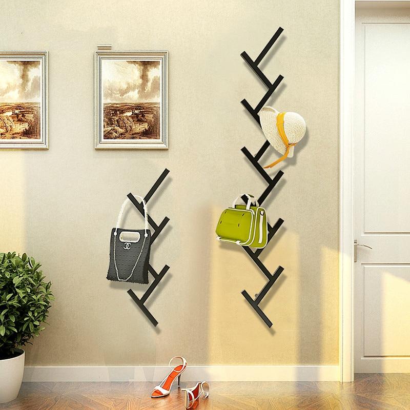 Creatieve Muur Kapstok Moderne Minimalistische Mode Muur Hanger Slaapkamer Woonkamer Muur Hanger Haak Lage Prijs