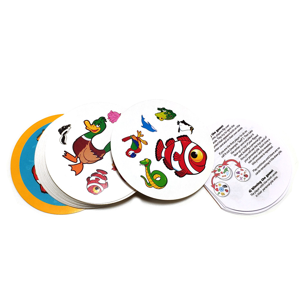 Card-Game Playing-Cards It-Animals Spot English-Version Fun Family Enjoy for It-31