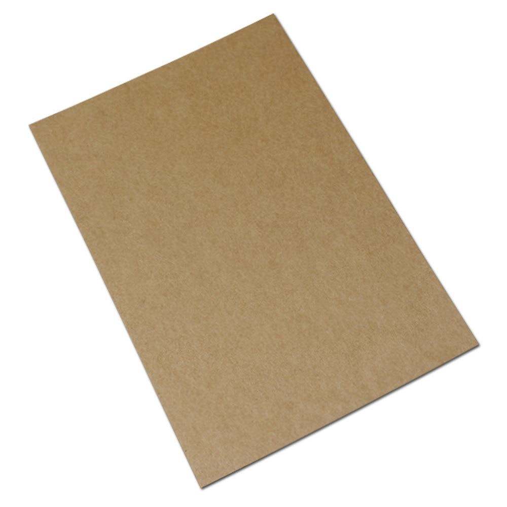 500pcs 1015cm Kraft Paper Blank Greeting Card Gift Cards Diy Craft