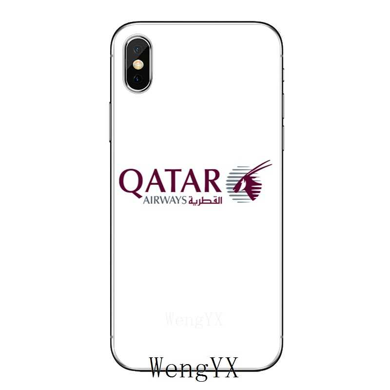 Qatar Flag national flag slim silicone TPU Soft phone cover case For Apple  iPhone 4 4s 5 5s 5c SE 6 6s 7 8 plus X XR XS Max