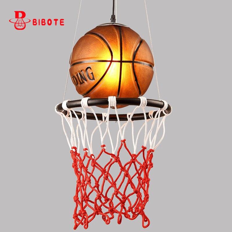BIBOTE Basket Personnalité Pendentif Lumières lampe enfant avec ampoule led Enfants Chambre Déco Lampe Suspendue livraison gratuite