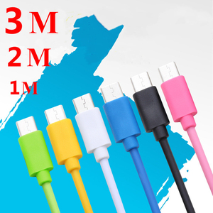 Image 5 - Micro USB Cable 2.4A Fast Charging Data Charger Cable For Samsung Xiaomi Huawei LG Tablet Mobile Phone Cables Microusb 1m 2m 3m