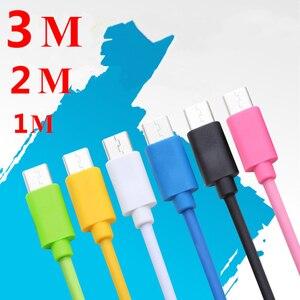Image 5 - 마이크로 USB 케이블 2.4A 빠른 충전 데이터 충전기 케이블 삼성 Xiaomi 화웨이 LG 태블릿 휴대 전화 케이블 Microusb 1m 2m 3m