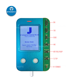 Аккумулятор JC B1 для iPhone 6, 7, 8, X, XS MAX, проверка и тестирование емкости батареи, срок службы батареи
