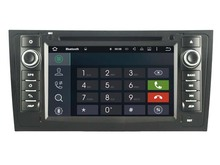 Android 7 1 1 2GB ram font b car b font DVD player for Audi A6