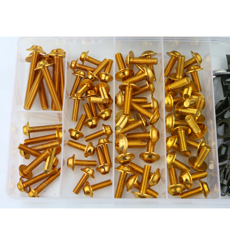 Image 2 - Motorcycle Accessories CNC Aluminum Full Fairing Bolt Kits Bodywork Screws Fit For YAMAHA YZF R1 R1M R15 R25 R3 R6 R125-in Full Fairing Kits from Automobiles & Motorcycles