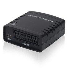 Видео захватами карты захвата, конвертировать Scart ТВ Hi8 VHS цифровой DVD, USB AV конвертер