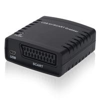 Video Grabber Capture Card, Convert Scart TV Hi8 VHS to Digital DVD, USB AV Converter