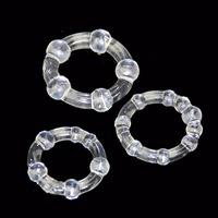 5pcs Penis Rings Sex Products Sex Toys Delay Ejaculation Cock Rings Adult Sex To