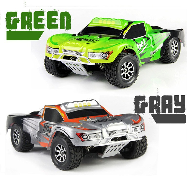 ФОТО WLtoys A969 1:18 Scale Hummer High Speed Off-road Remote Control Car 2.4G 45KM/H