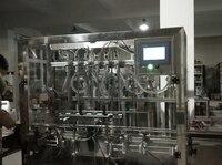 automatic juice piston filling machine,6 nozzle 1 5L 316L shampoo/wine filling machinery CE