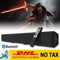 XGODY 1011A Bluetooth Bass Soundbar Subwoofer 3D Stereo Sound for Home Theater Wireless Speaker for iOS Android for TV Aux In