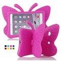 For iPad Mini Case Kids Light Weight Cute Butterfly Design Shock Proof EVA Foam Cover Case for iPad Mini / Mini 2 / Mini 3