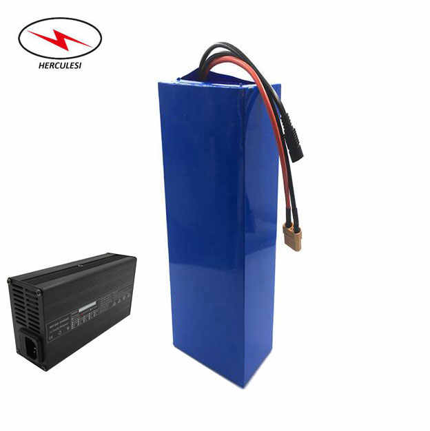 NMC Li-Ion Ebike Battery Pack 72V 40Ah 30Ah 20Ah Lithium Battery Pack for 72V 3000W 5000W in GA PF 30Q Cells +2A / 5A Charger