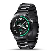 Neue ankunft gw01 bluetooth 4,0 smart watch ips runden bildschirm anti-verlorene smartwatch unterstützung android ios system tragbare smartphone
