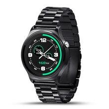 Nueva llegada bluetooth 4.0 smart watch gw01 ips pantalla redonda anti-perdida smartwatch apoyo del sistema ios android smartphone portátil