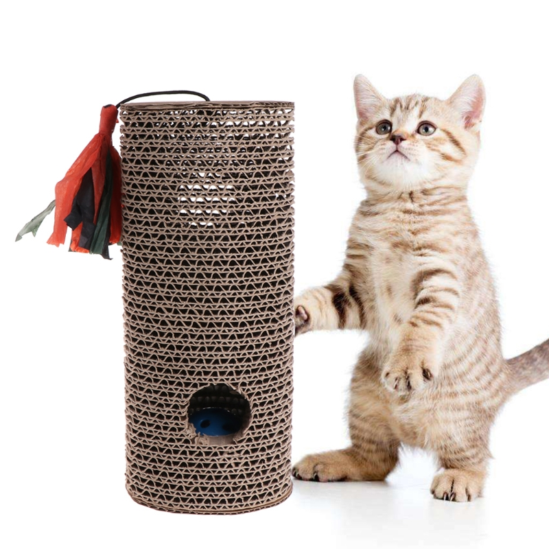 pet cat dog supplies pet cat Toys cat Cylinder scratch mat board bed Dog Claws Care Resistance Toys Tail