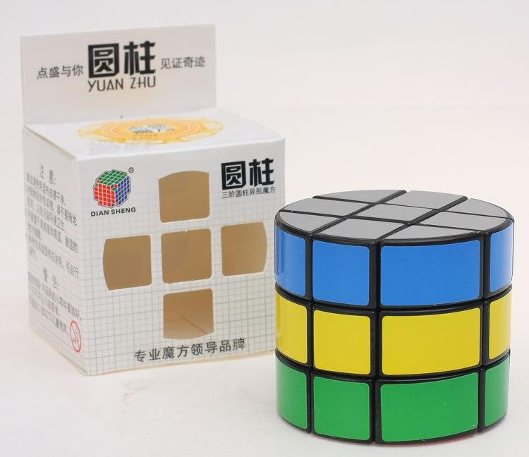 Diansheng 3x3x3 Black Round Shape 3 Layer Speed Cubo magic Puzzle Toys Cubiks Juguetes Educativo Magic Cube Puzzle(China)