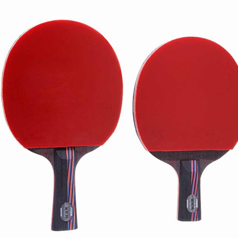 Lemuria DIY WRB 7.6 carbon fiber table tennis racket double face pimples-in table tennis rubber FL or CS handle ping pong bats