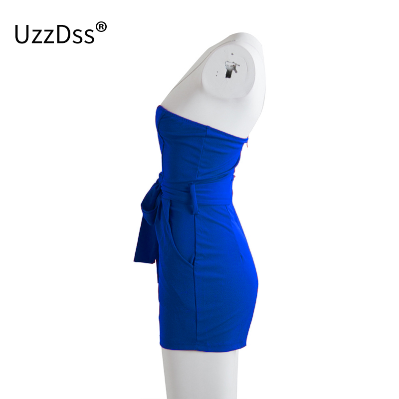 2f84741d1e4f 2019 UZZDSS Off Shoulder Bodycon Shorts Jumpsuits For Women 2018 ...