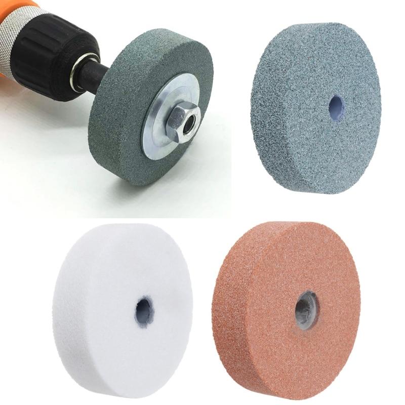 3/'/' Grinding Stone Wheel Abrasive Disc F Metal Ceramic Bench Grinder Rotary Tool