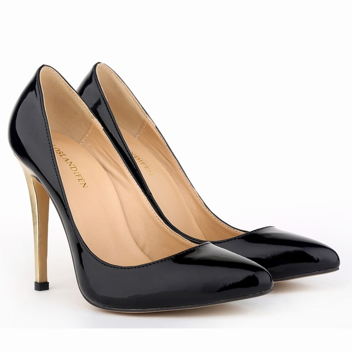 cheap New Fashion Women High Heels Women Wedding Shoes Pointed Toe