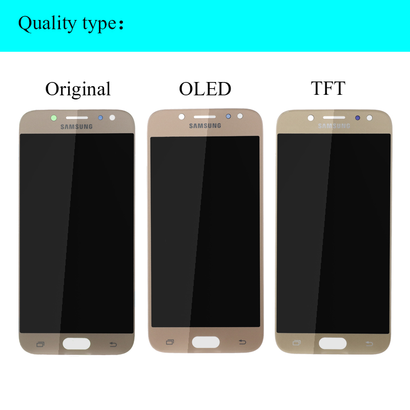 HTB143yDOVzqK1RjSZFoq6zfcXXaw SUPER AMOLED 5.2'' LCD Replacement Display for SAMSUNG Galaxy J5 PRO 2017 J530 J530F LCD Touch Screen Digitizer Assembly