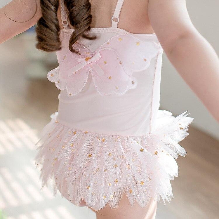 Женский купальник-бикини Fanceey, розовый купальный костюм с юбкой для танцев, лето 2019