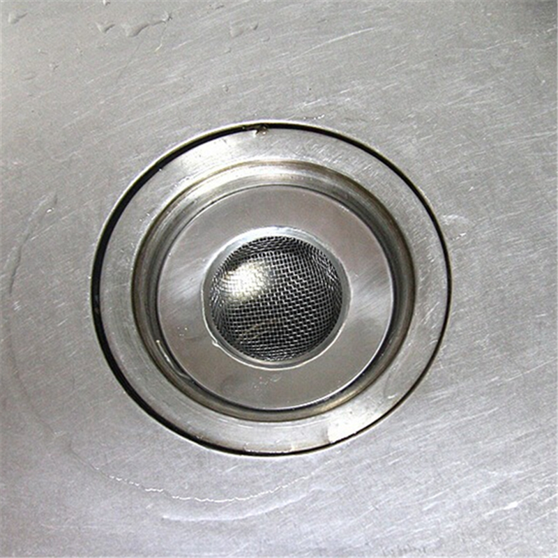 1PC 75cm Stainless Steel Sewer Filter Sink