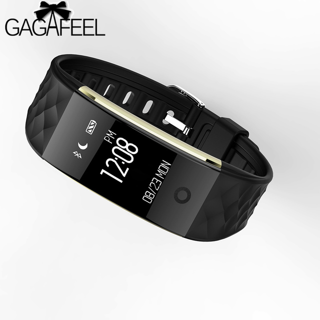 GAGAFEEL Women Men Smart Watch Herat Rate Monitor For Android 4.3 iOS 7.0 Pedome