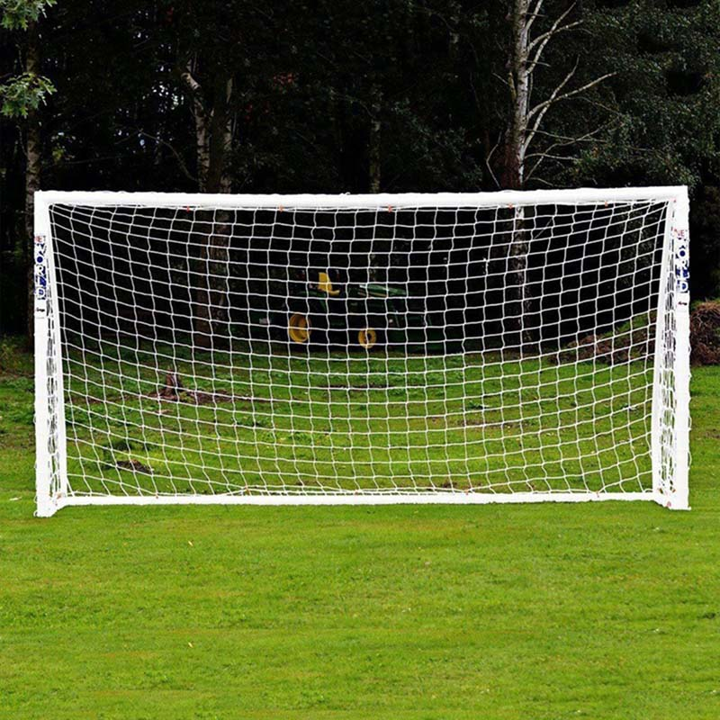 Hot Full Size Football Net For Soccer Goal Post Junior Sports Training 1.8m X 1.2m 3m X 2m Football Net Soccer Net