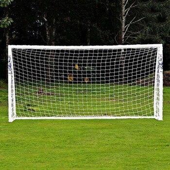 Hot Full Size Football Net For Soccer Goal Post Junior Sports Training 1.8m X 1.2m 3m X 2m Football Net Soccer Net High Quality